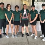 Girls' golf team rules region