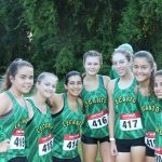 Girls Varsity Cross Country finishes 8th place at Whispering Pines Invitational