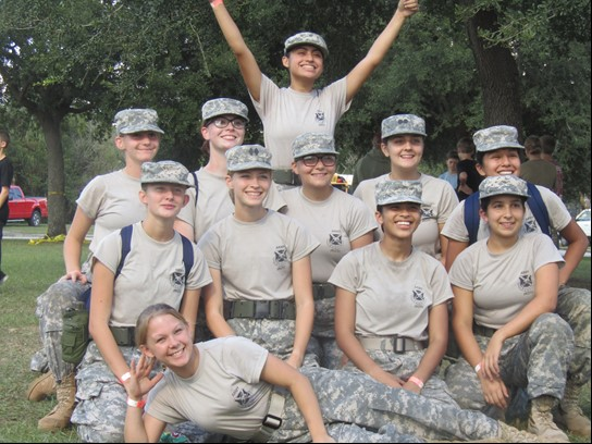 JROTC Raider Team Dominates Regional Meet