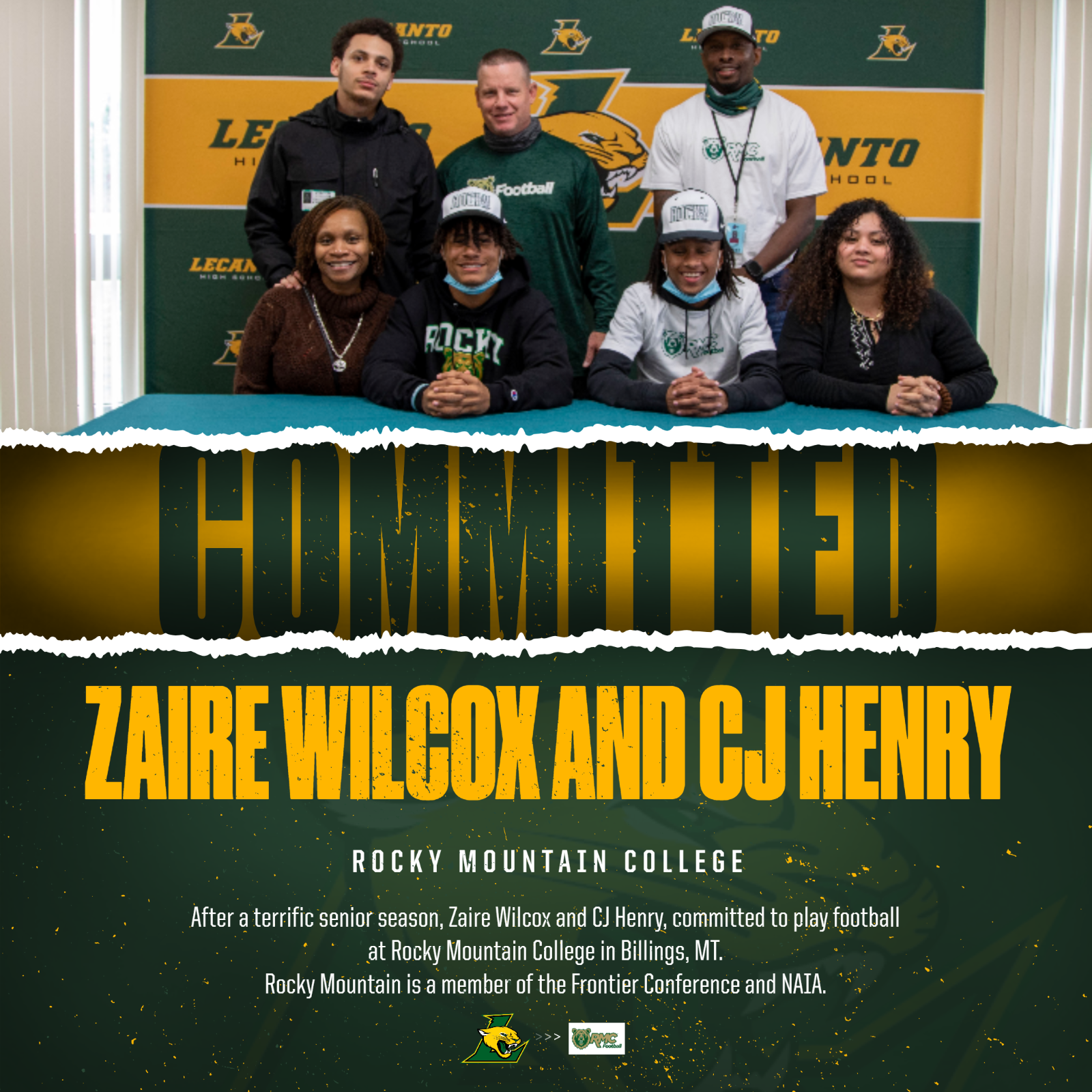 Wilcox and Henry Sign with Battlin' Bears
