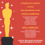 Prom Court Nominees