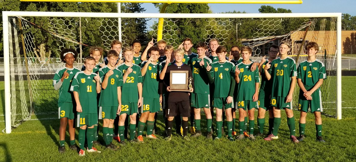 2018 Boys Soccer Conference Champions!