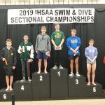 Boys Varsity Swimming Places 10th at Sectional