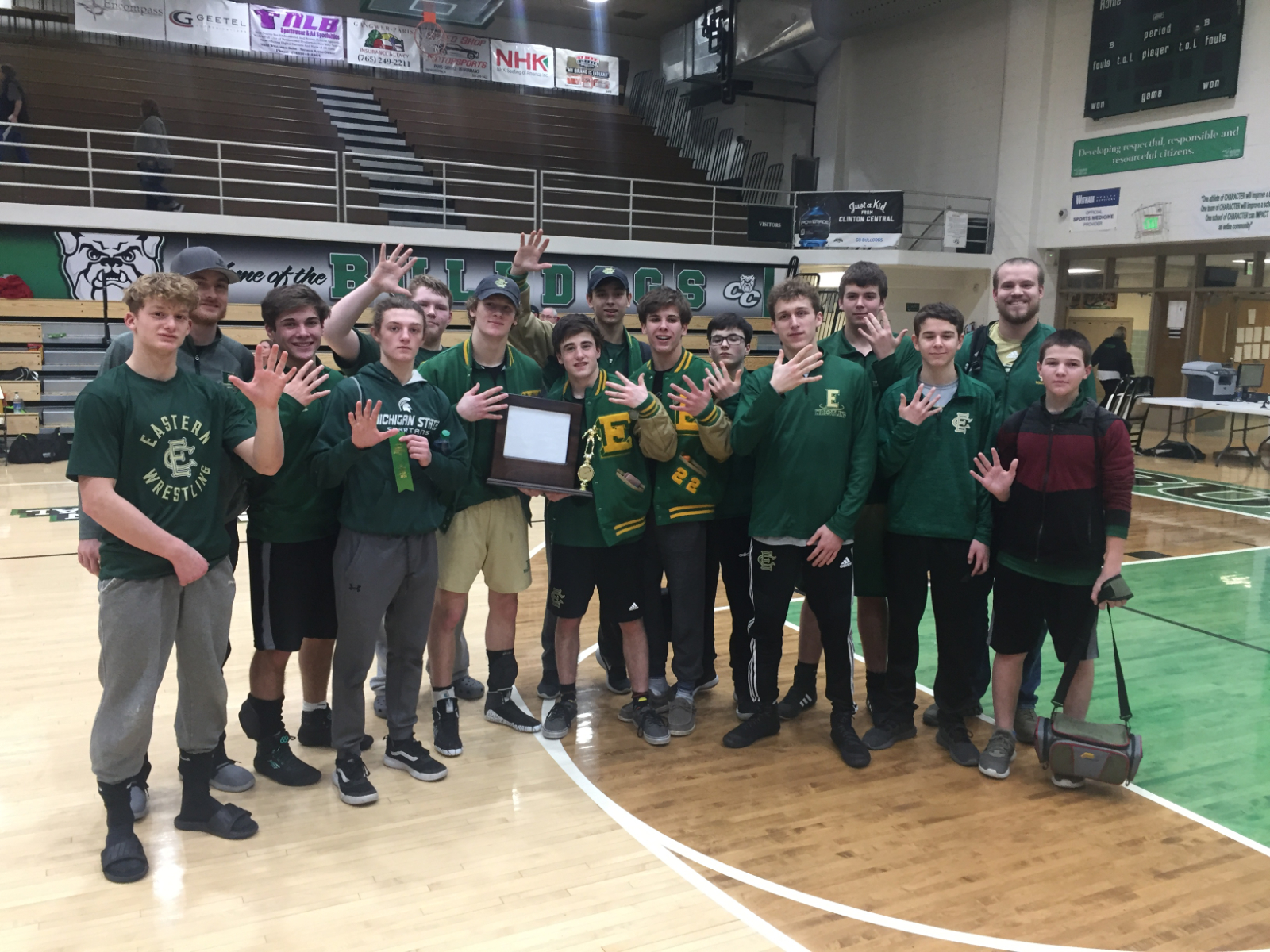 2020 Wrestling Conference Champions!
