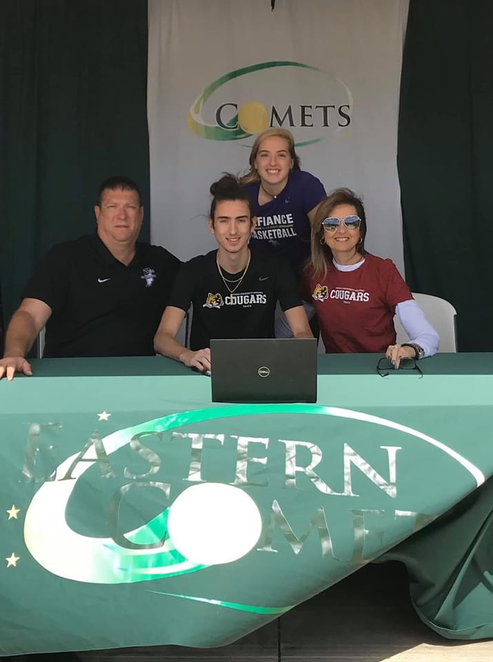Jake Cooper Signs with IU Kokomo Track & Field Program!