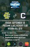 Eastern at Carroll Varsity Football Webcast