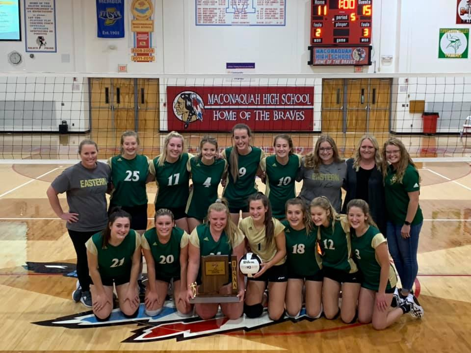 Varsity Volleyball Wins Sectional Championship!