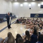 Cheer and Pom Recognized by AD Ridenour