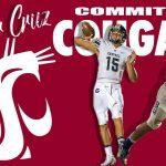 Gunner Cruz Commits to Washington State