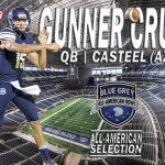 Gunner Cruz Selected for All-American Bowl