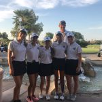 Varsity Women's Golf with a big win