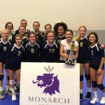 8th Grade Girls Volleyball Wins Monarch Tournament
