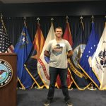 Jakob Figley Sworn Into Army