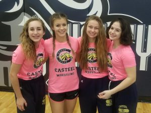Casteel Lady Colt Wrestlers