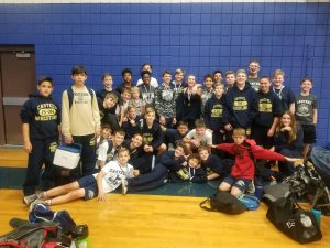Casteel Jr High Wrestlers win Camp Verde tourney