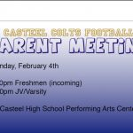 Football Parent Meeting