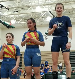 Tyla Biggs Is Casteel's First Ever Sectionals Champion In All-Girls Wrestling