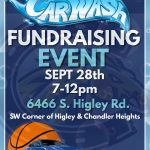Men's Basketball to host a Car Wash Fundraiser on September 28th!