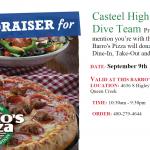 Casteel High Swim and Dive Team Fundraiser Tonight!