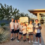 Casteel boys freshman tennis defeats Brophy 5 to 4