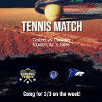 Girls Freshman Tennis shuts down Chandler 9 – 0