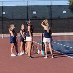 Girls Freshman Tennis beats Perry 9 – 0