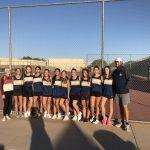 Girls Freshman Tennis beats Basha 8 – 1
