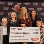 Naomi Nyboer wins Arizona Sports Character Counts scholarship