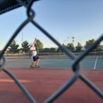 Boys Varsity Tennis dominates Willow Canyon 8 to 1