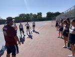 Girls Freshman Tennis blanks Perry 9 – 0