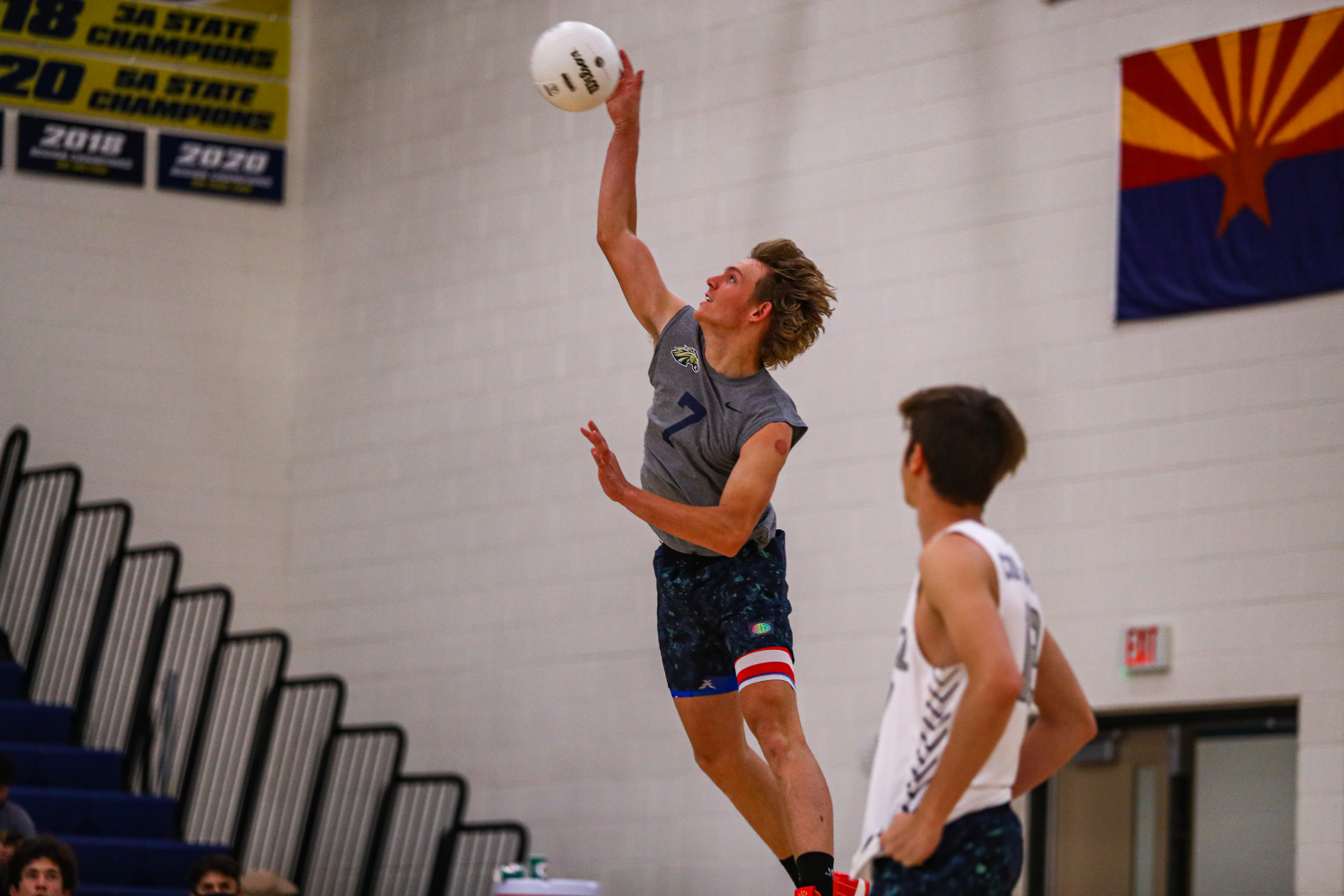 Volleyball Dominates Quarterfinal Match-up, Will See a Familiar Foe in Williams Field