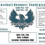 Phoenix Baseball Fundraiser Banquet