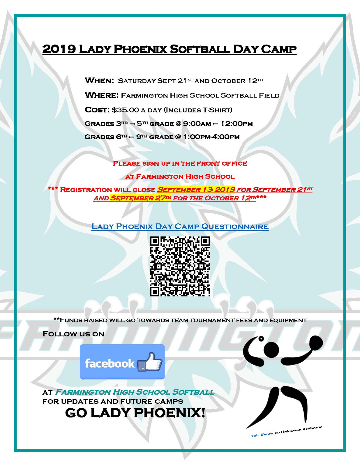 Phoenix Softball Day Camp