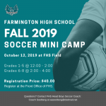 Fall Youth Soccer Camp