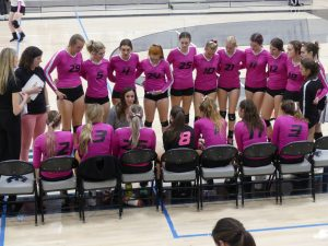 Volleyball vs Box Elder (Pink Out Game)