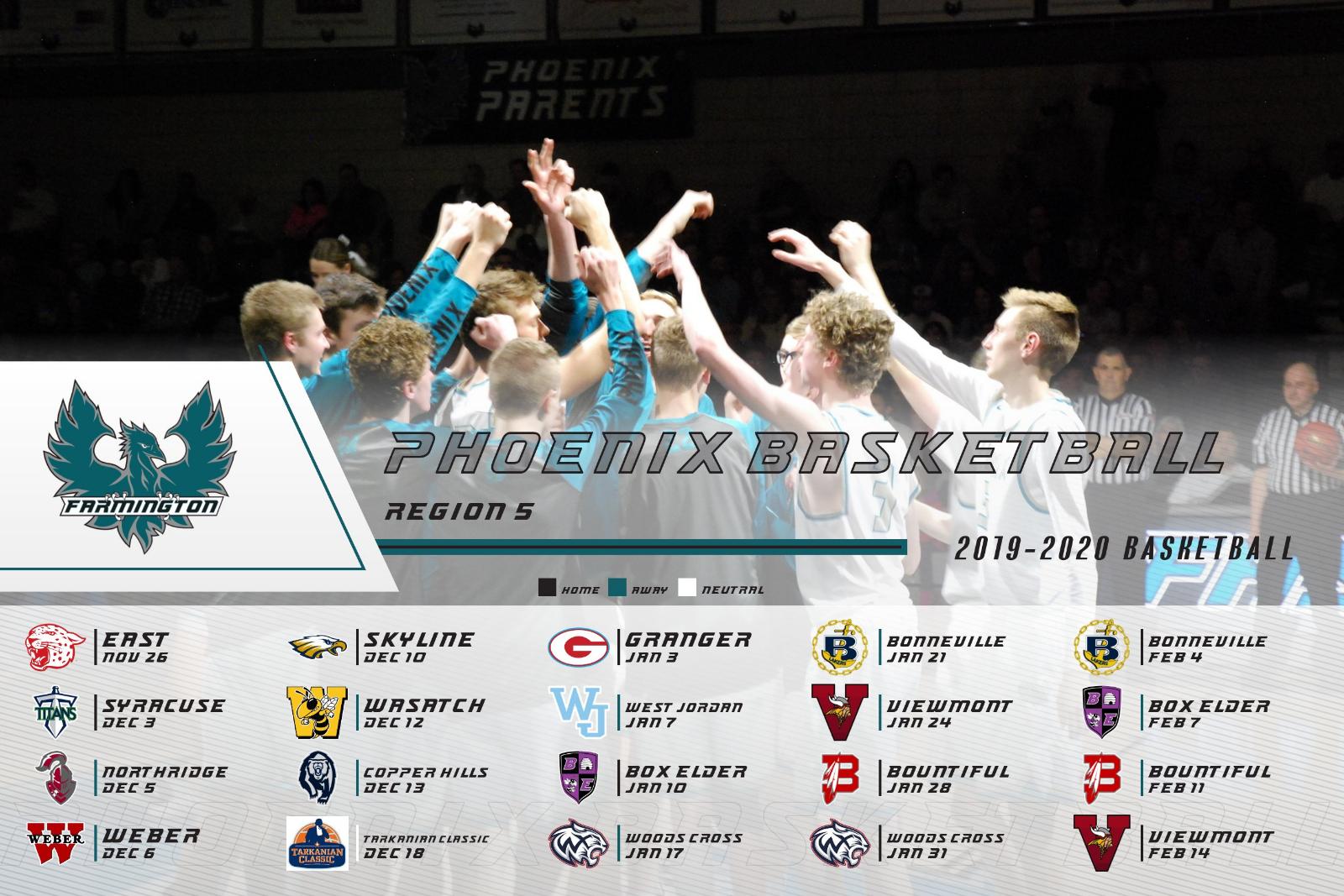 Boys Basketball Schedule