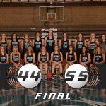 Girls Varsity Basketball falls to Olympus 55 – 44