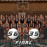 Girls Varsity Basketball beats Sky View 56 – 35
