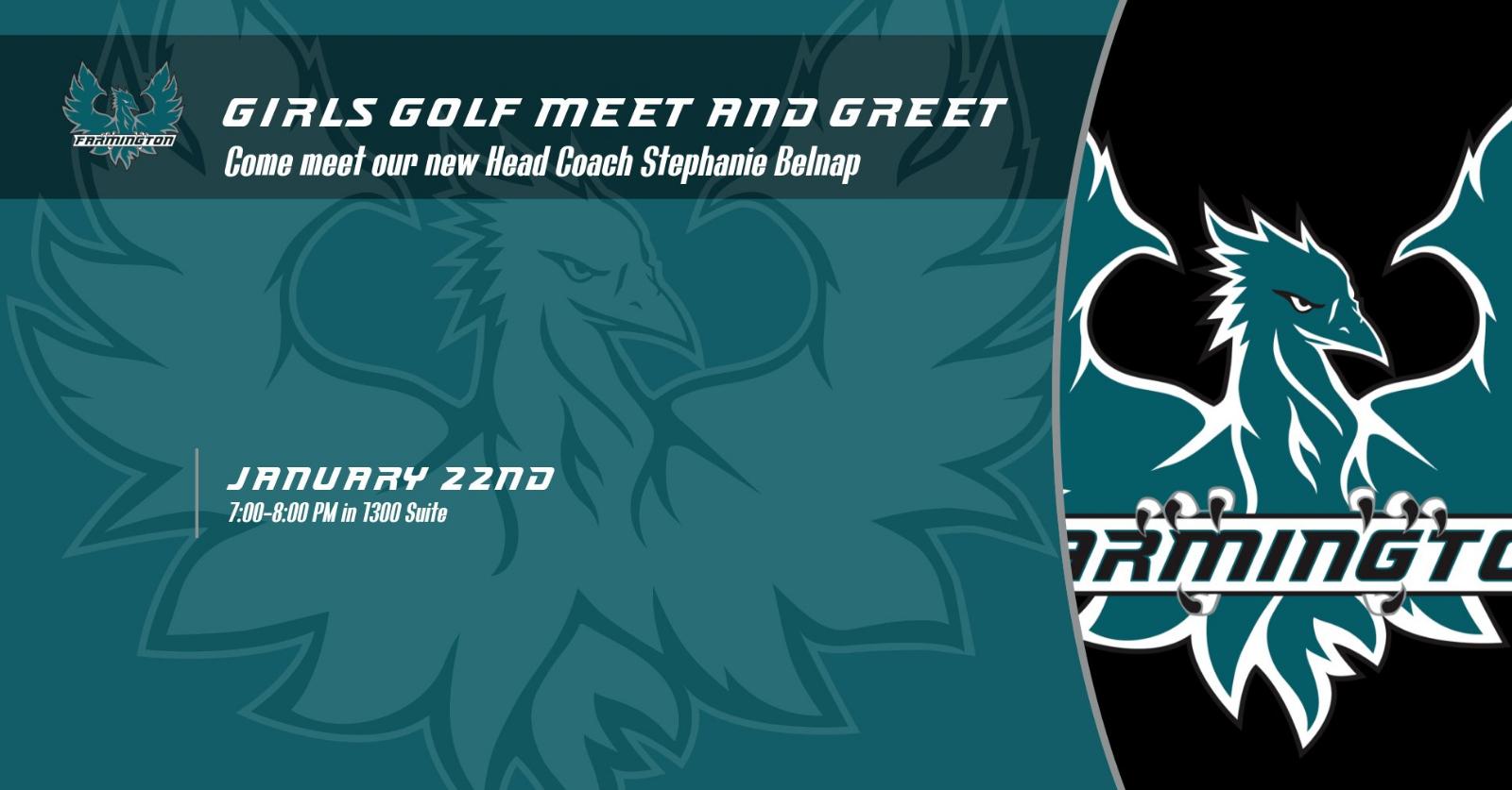 Girls Golf Meet and Greet