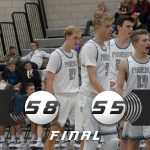 Boys Varsity Basketball beats Box Elder 58 – 55
