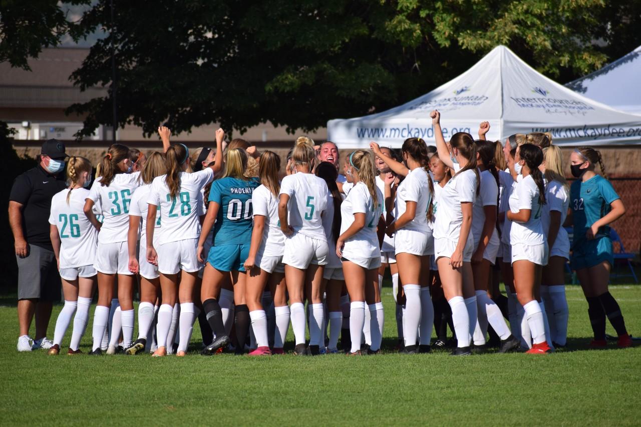Girls Soccer vs Bonneville
