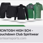 Chiefs Football Touchdown Club Spiritwear Shop is Open!