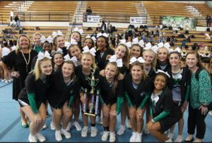 Varsity Competitive Cheer at Chapel Hill