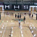 Girls Varsity Volleyball beats Landmark Christian 2 – 0