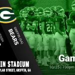 Away game Friday 10/25 vs Griffin Bears