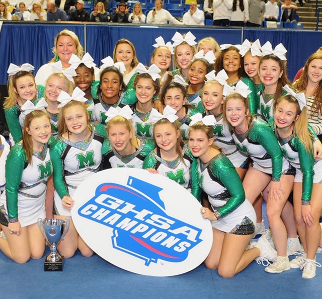 Cheer wins state!