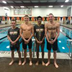 Swimming beats McHenry by 96 points on Senior Night