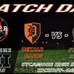 Varsity Soccer: DeKalb 0 Sycamore 7