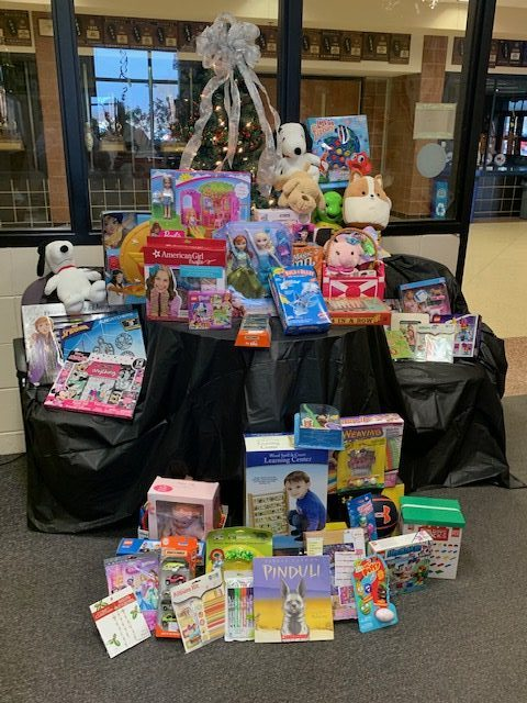 Athletics Toy Drive – Thank you!