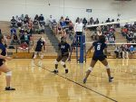 Girls S.C. Lee Jr High 7th White Volleyball beats Temple Travis 2 – 0
